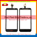 "High Quality 4.5"" For HTC Desire 320 Touch Screen Digitizer Sensor Glass Lens Panel Black+Tracking Number"
