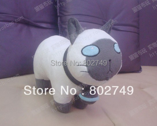 Tales of Xillia 2 Elle Mel Mata Cat Plushie 100% Handmade Stuffed Plush Toy Cosplay Props 35cm tales of xillia tales of xillia 2 игра для ps3
