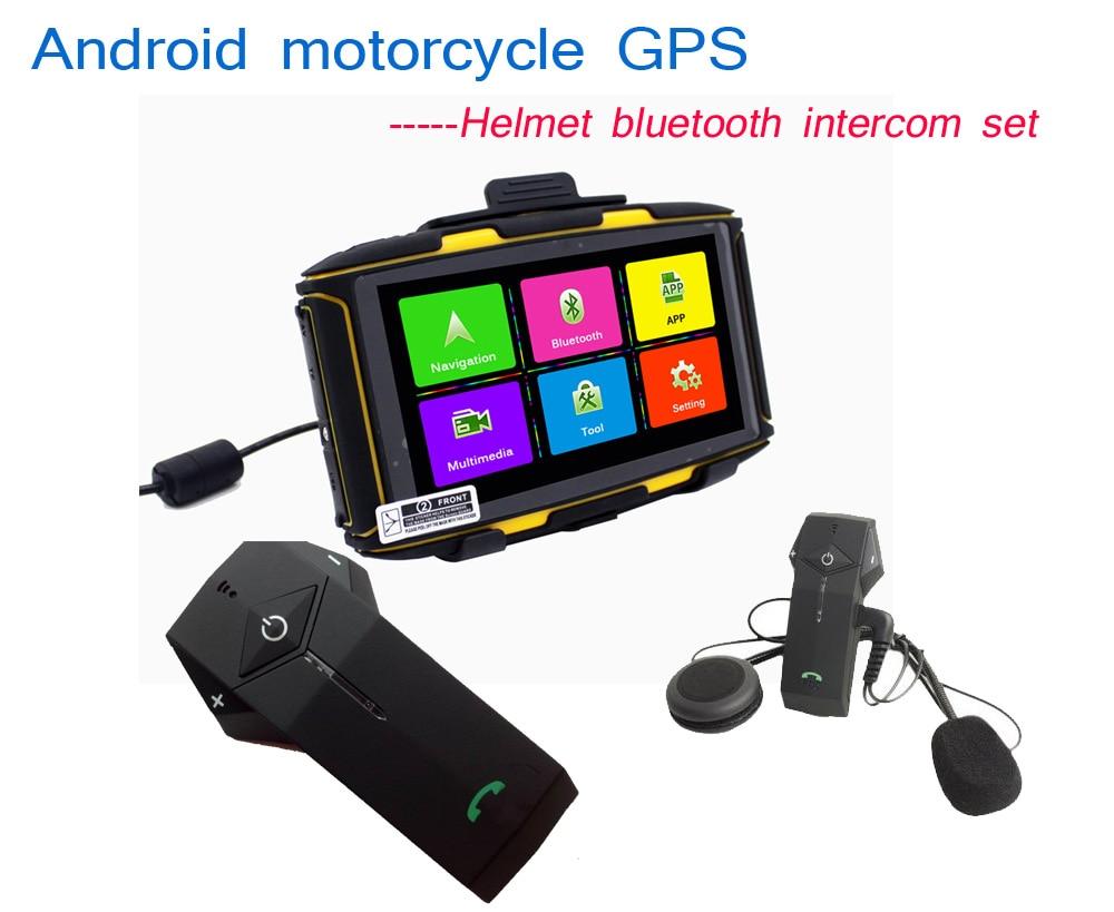 KARADAR waterproof motorcycle 5 inch GPSs