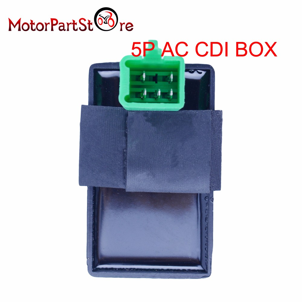 5 Pin Cdi Box One Plug For Honda Xr Crf 50 70 90 110 125cc 4 Stroke Dirt Pit Bike Atv Quad Go