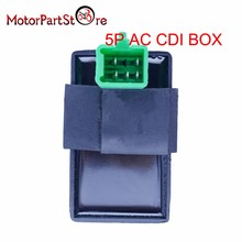 цена на 5 Pin CDI BOX One Plug for Honda XR CRF 50 70 90 110 125cc 4 Stroke Dirt Pit Bike ATV Quad Go Kart Taotao Kazuma Sunl Motorcycle