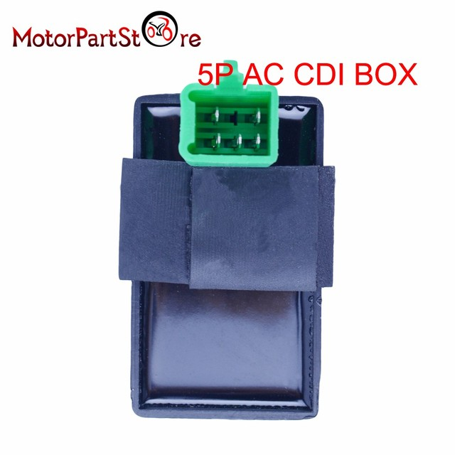 5 Pin Cdi Box One Plug For Honda Xr Crf 50 70 90 110 125cc