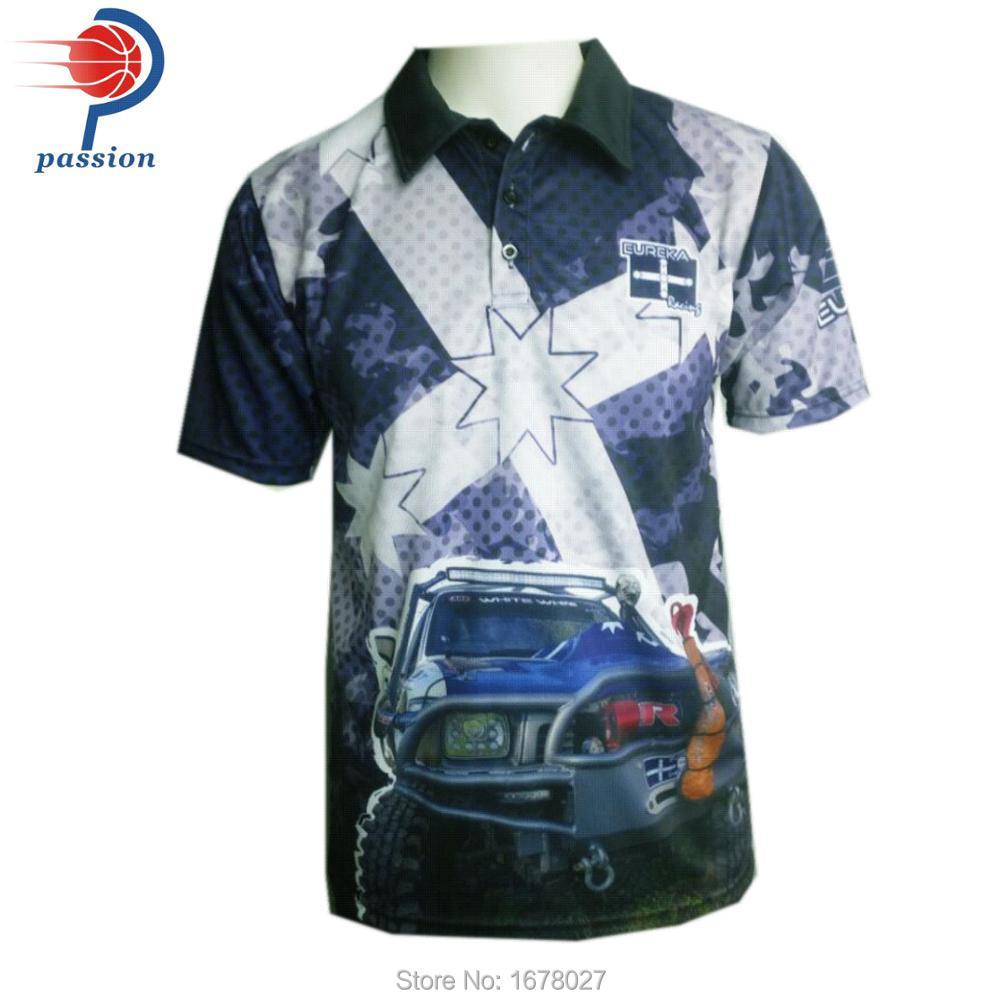Aliexpress Buy Custom Quick Dry Racing Team Polo Shirts From