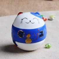 Home Lucky Cat Pig Ornaments Ornaments Desktop Ornaments Piggy Bank Lucky Fortune Creative Gifts