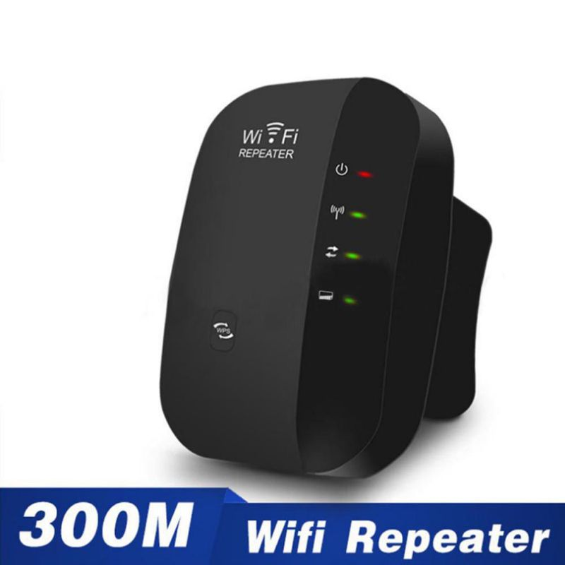 Wireless WiFi Repeater Signal Amplifier 802.11N/B/G Wi-fi Range Extander 300Mbps Signal Boosters Repetidor Wifi Wps Encryption s