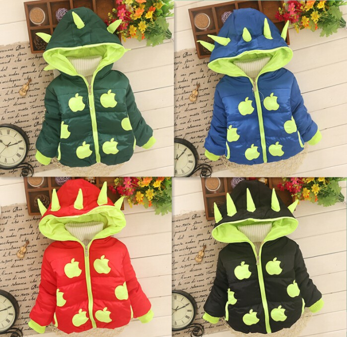 Winter Boys And Girls Outerwear Coat