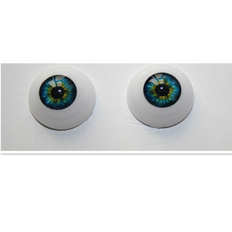 20 PAIR acrylic Doll Eyes  100.00 FREE SHIPPING You choose size  and color