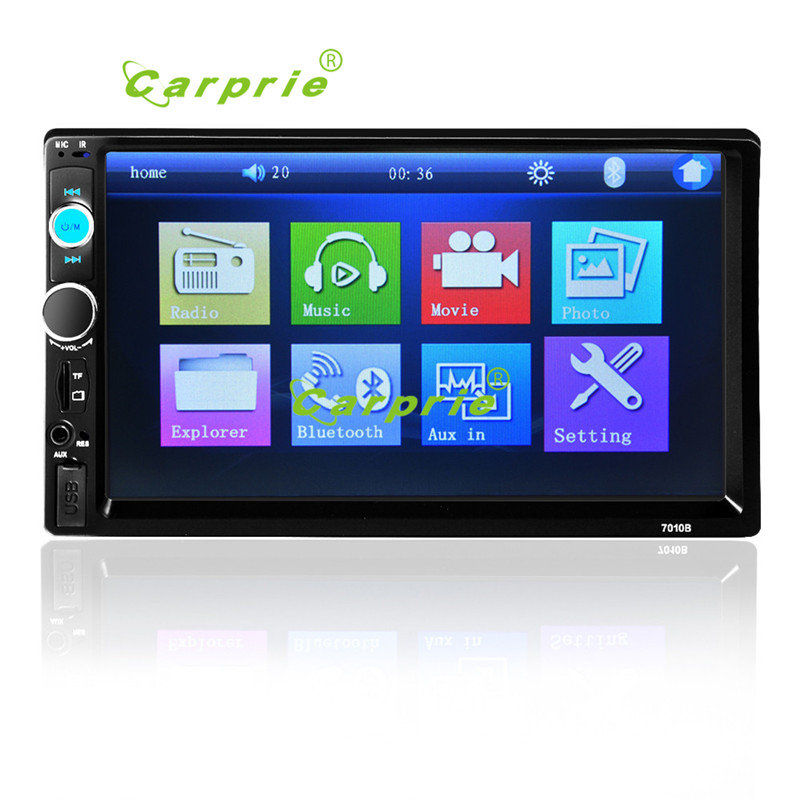 AUTO Car Video Player DVD 7'' HD Touch Screen Bluetooth Stereo Radio Car MP3 MP4 MP5 Audio USB Auto Electronics In Dash FEB15