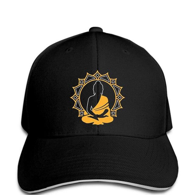 c3543c12b64 Men Baseball cap Buddha Lotus Flower Logo Spiritual Chakra Yoga Zen  Meditation Hat women