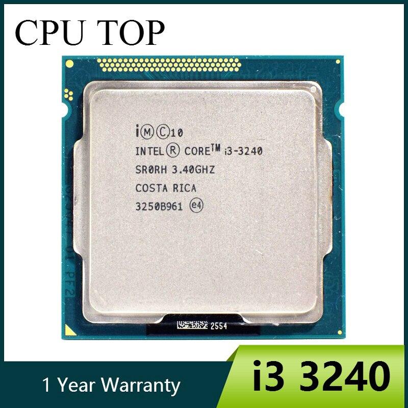 Intel i3 3240 Dual Core 3 4GHz LGA 1155 3MB Cache i3 3240 CPU Processor