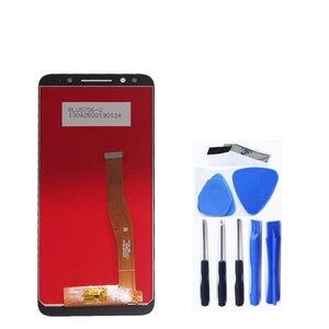 Image 2 - 100% test für Alcatel 3X5058 5058A 5058I 5058J 5058T 5058Y LCD display + touch screen komponenten digitizer reparatur teile + werkzeuge
