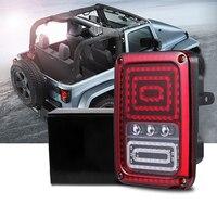 AOZBZ Snake Style Car LED Left Rear Reversing Brake Light Turn Signal Tail Light For 2007