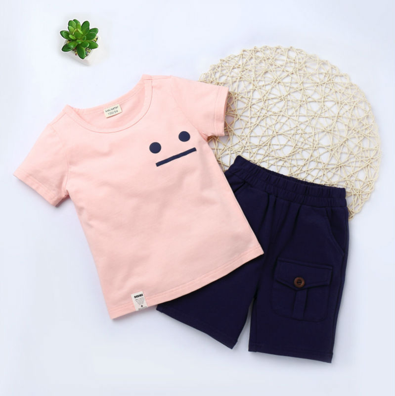 Fashion Children's Clothing sets For Boys and Girls Summer Geometric Pattern T Shirts Kids Cotton O-Neck T-Shirt Casual Clothes  summer t shirts for boys cotton kids shirts dinosaur short sleeve pullover clothes v neck boy t shirt fashion children clothing