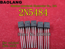Free Shipping ELectronic 2N5484 IC AMP RF N-CHAN 25V 10MA TO-92 20pcs