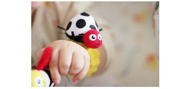 A Cute Set of Rattle Socks and Wrist Bands | Innovative Rattle Toy for the Infants