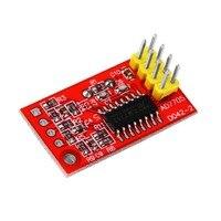 ICOCO Brand Hot 1pc Dual 16-bit ADC Data Acquisition Module SPI Compatible AD7705 Module Board Top Sale