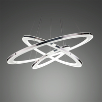 Free Shipping Modern Led Pendant Light Led Pendant Lamp Solid Acrylic Stainless Steel 90 265V Suspension