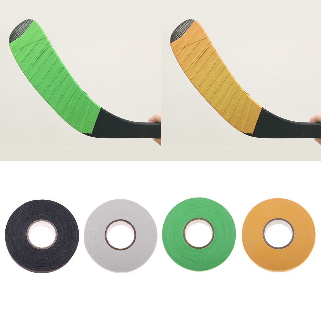 1 Roll  Hockey Cloth Tape Waterproof Adhesive Ice Hockey Lacrosse Stick Wrap Grip Cotton For Badminton/Tennis Handles