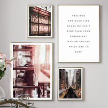 New York Street Cafe Central Cinema Quote Wall Art Canvas Painting Nordic Posters And Prints Wall Pictures For Living Room Decor cir new york esagona wall street 24x27 7