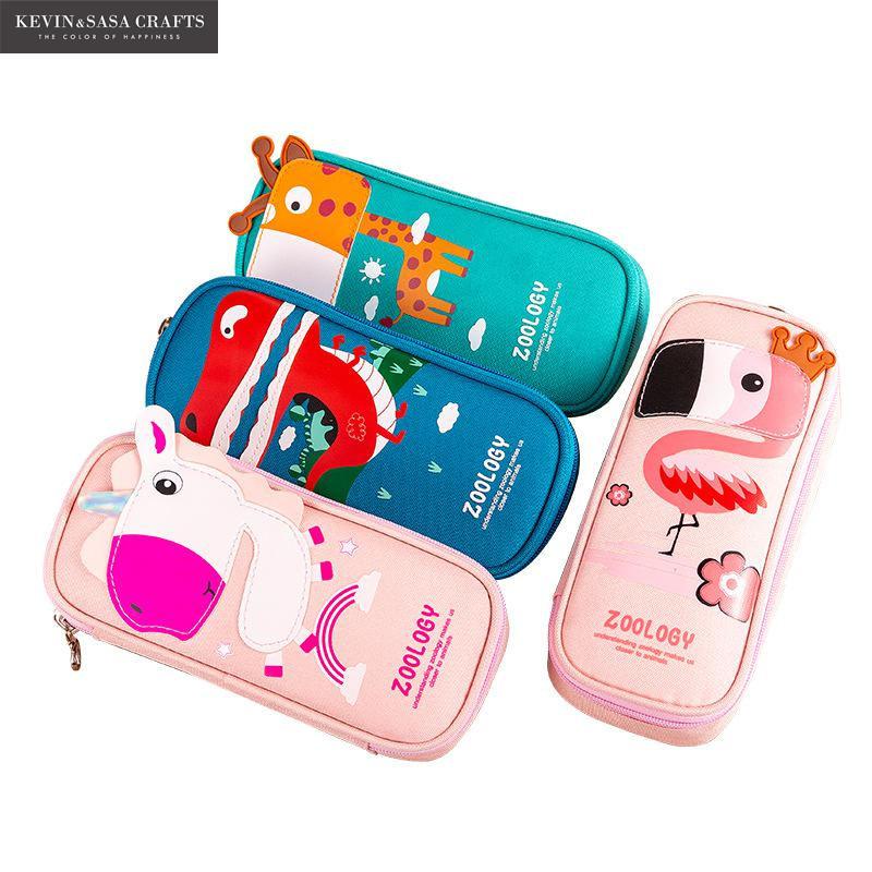New Super Pencil Case Kawaii Large Capacity Pencilcase School Pen Case Supplies Pencil Bag School Box Pencils Pouch Stationery