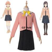 Bloom into You Koito Yuu Nanami Touko JK School Uniform Dress Outfit Anime Cosplay Costumes