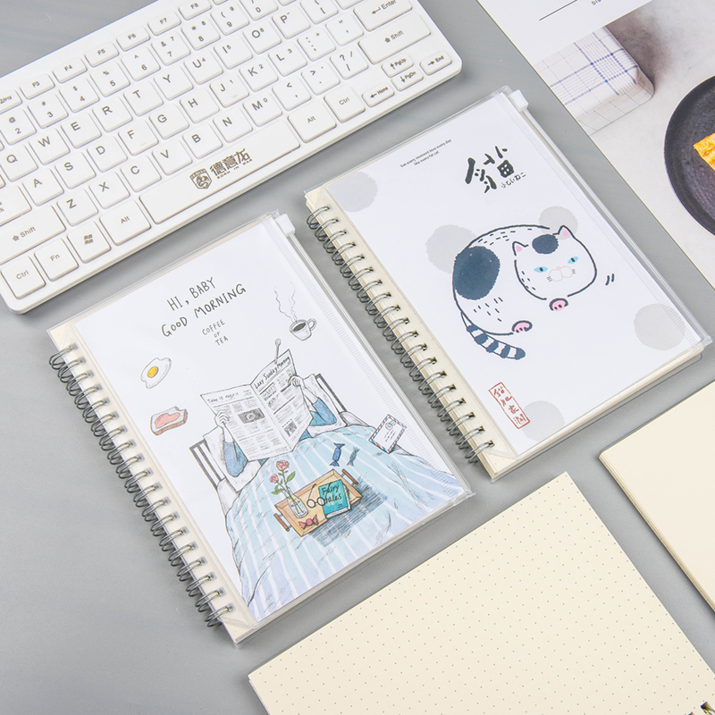 Koreanische Briefpapier Spule Spirale Notebook Nette Kawaii 100 tage ...