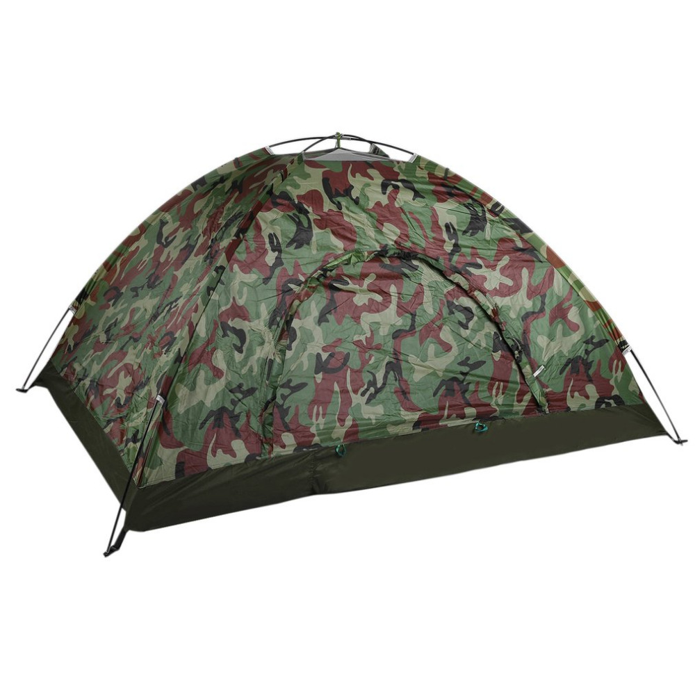 New Waterproof Camping Tent Outdoor Sport Fishing Single Layer Pop Up Anti UV Tourist Tent for Wigwam Beach Hunting with Bag