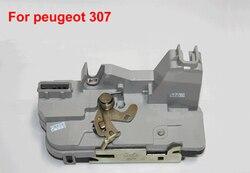 SKTOO serratura Della Porta Anteriore Sinistro Lato Guida Per Peugeot 307 auto serratura della porta serratura di montaggio