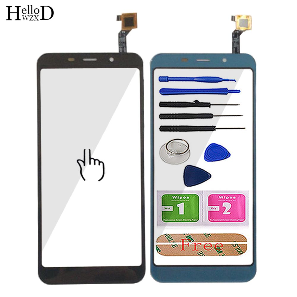 Touch Screen For OALE X4 TouchScreen Phone Touch Screen Front Glass Digitizer Panel Lens Sensor Mobile Tools Adhesive Wipes
