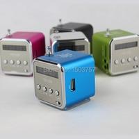 TD-V26 2 шт. мини MP3-плееры TF карты USB Disk Micro SD карты FM Радио LINE IN/OUT Sound Box Цифровой портативный Динамик