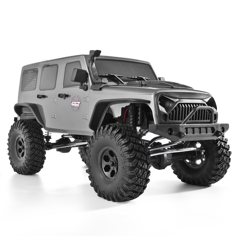 RGT Rc Crawler 1:10 Scale 4wd RC Rock Cruiser EX86100 313mm Wheelbase Rock Crawler Off Road Truck RTR 4x4 Waterproof RC Car image