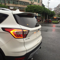 Fit For Ford Escape Kuga 2013 2014 2015 2016 2017 Exterior ABS Plastic Unpainted Primer Color Rear Trunk Wing Spoiler Decoration
