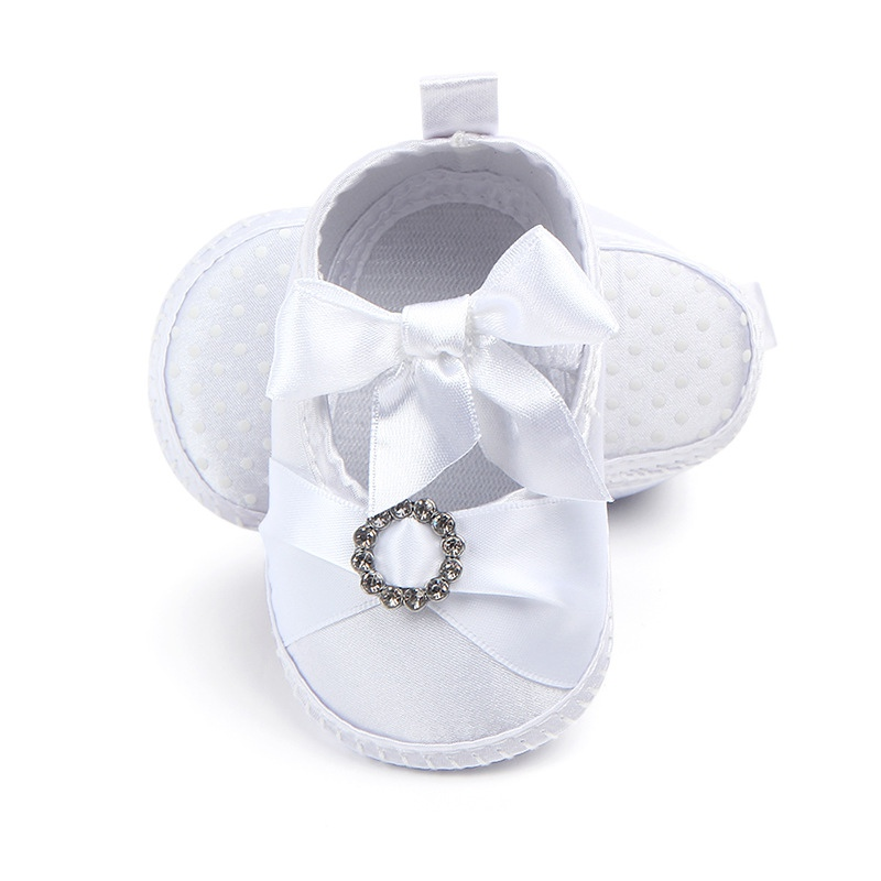 Baptism Shoes Baby First-Walkers Toddler Infant Satin 0-9M Soft-Bottom A1