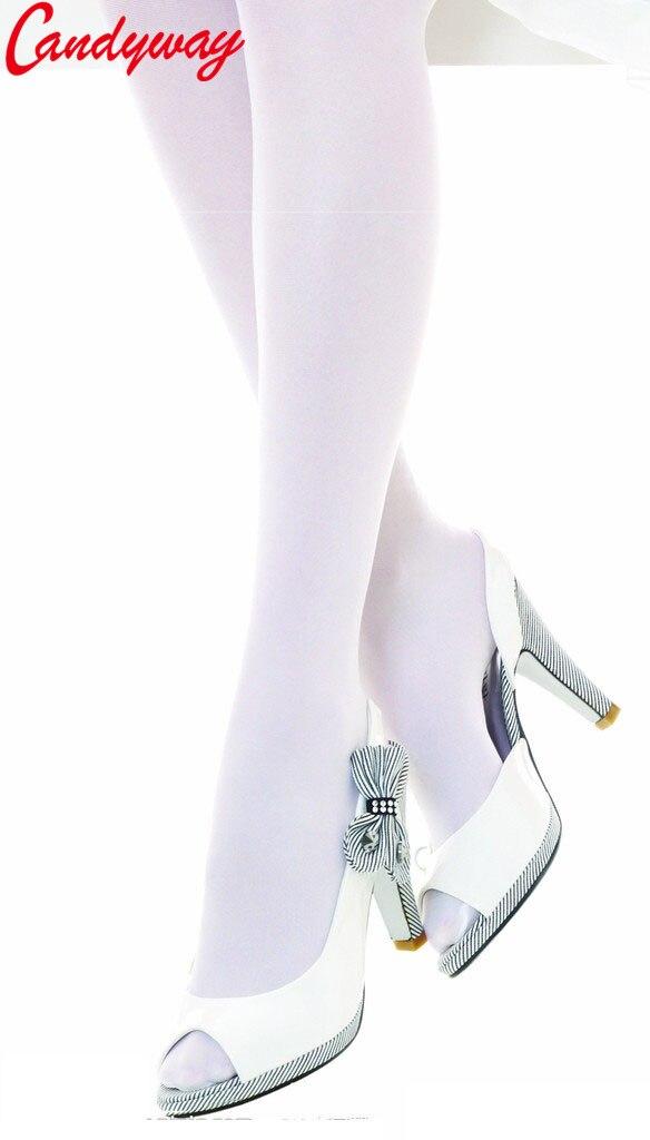 Сексуальные офисные женские чулки, женские модные белые мягкие тонкие колготки эластичные колготки, прозрачные обтягивающие чулки для дев...