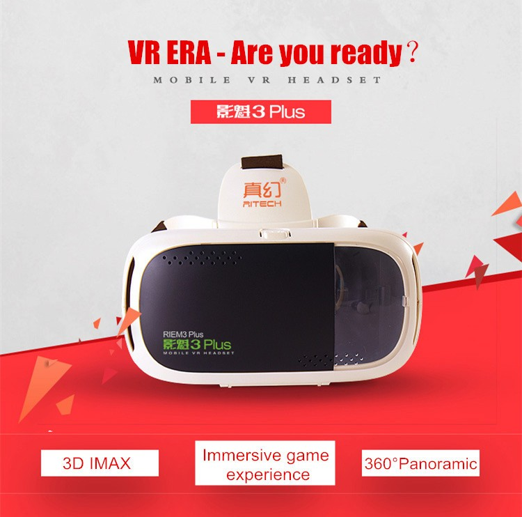 RITECH III + Virtual Reality 3D Glasses RIEM 3 Plus VR Headset Oculus Rift Google Cardboard 2 Goggles for 4.75.5-6 Smart Phone.jpg