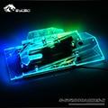 Bykski водный блок использовать для GIGABYTE AORUS RTX2080 Xtreme 8G/N2080AORUS/2070 полное покрытие медный радиаторный блок/RGB свет аура