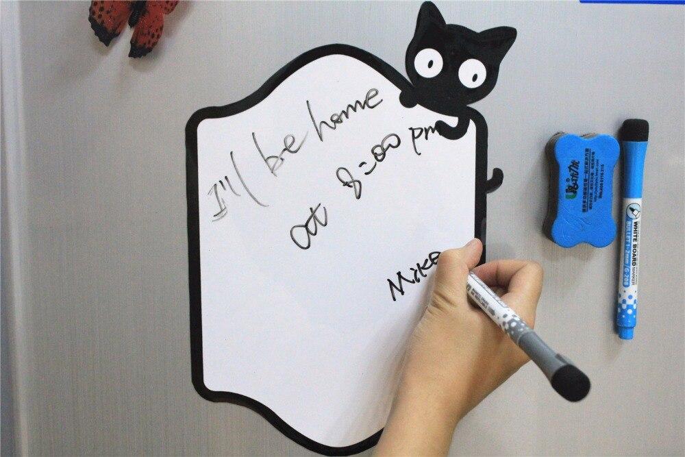 Decorative White Boards aliexpress : buy magnetic notes fridge memos decorative