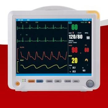 Health Care Multi Parameter ICU Patient Monitor Pulse ECG Blood Pressure Temperature Oximeter Medical Equipment YK8000B