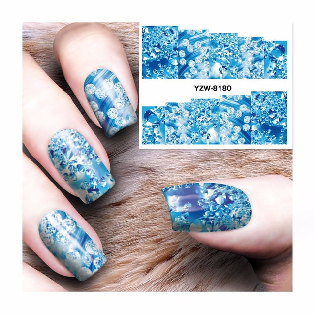 Water Transfer Nail Art Stickers