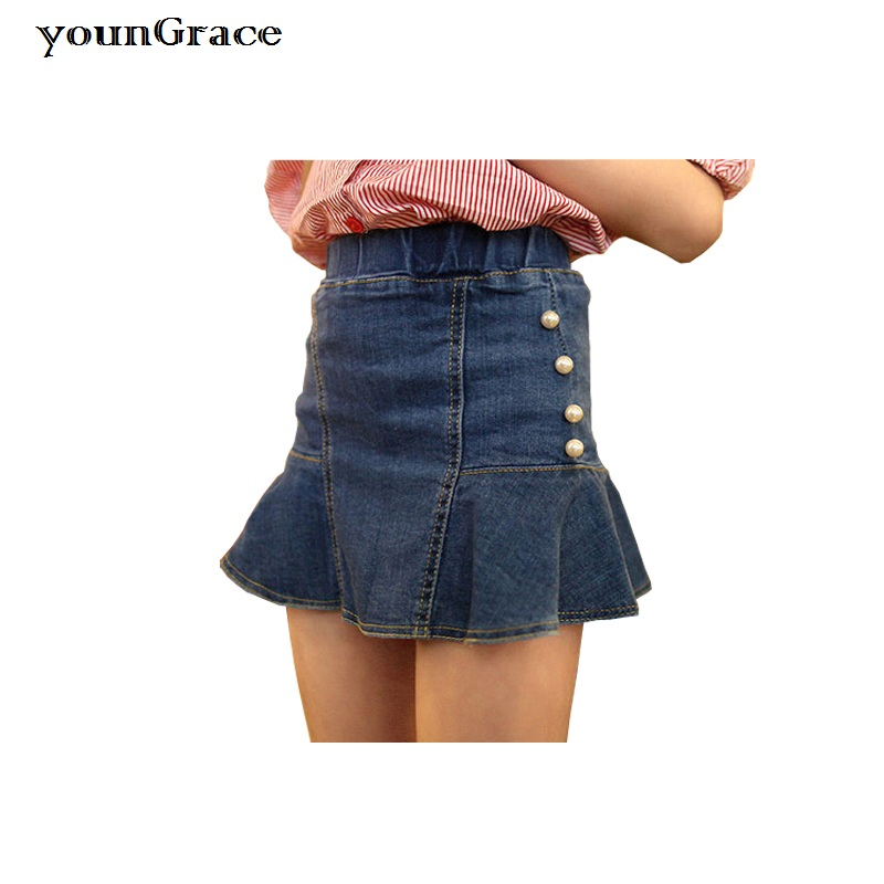 Compare Prices on Girls Jean Skirts- Online Shopping/Buy Low Price ...