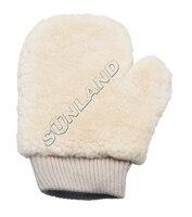 50 stück sinland 100% echtem schaffell waschen & polieren mitt 27*20 cm-in Reinigungstücher aus Heim und Garten bei