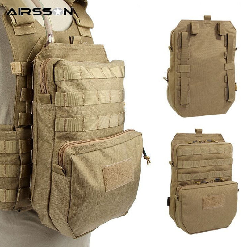 3L Tactical Molle Bag Waterproof Hydration Backpack Outdoor Water Bag For CS Game Military Combat Vest Accessories Hunting Bags
