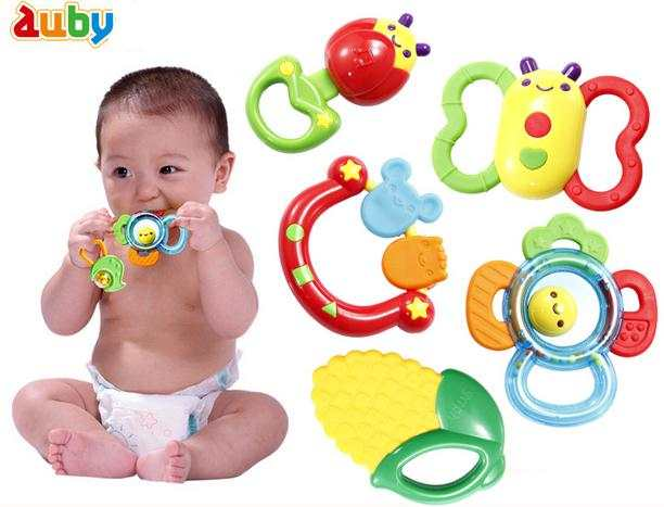 Online Shop Baby Toys 3 12 Months Rattle And Sensory Teether