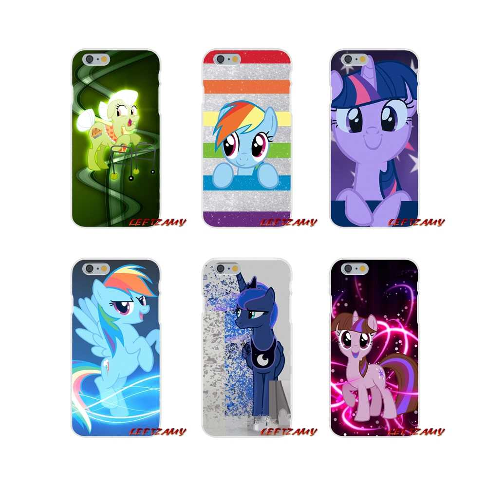 My Little Pony friendly аксессуары чехлы для телефонов для iPhone X XR XS MAX 4 4s 5 5S 5C SE 6 6 S 7 8 Plus ipod touch 5 6