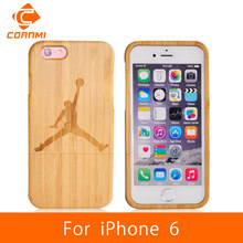 CORNMI Case For iPhone 6 Wood Cover 100% Real Bamboo Woody Cell Phone Cases For iPhone 6 Accessories 4.7″ Mobile Phone Bag JTH