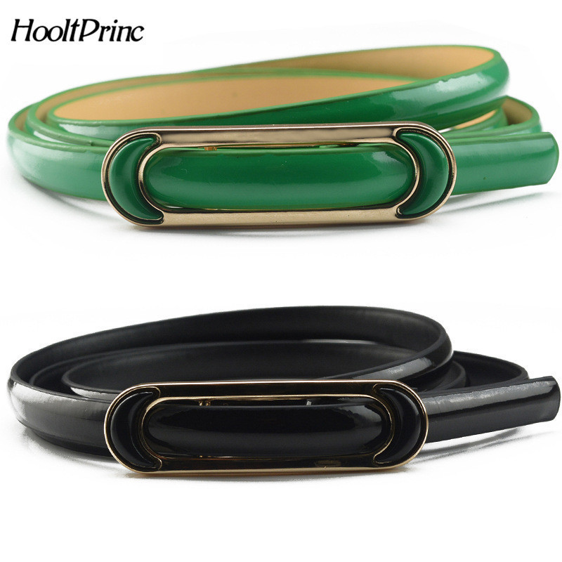 BrandBelts For Women Classic Wild Female Minimalist Thin Belt Women's Belt PU Leather Belts Cinturon Hombre Cinto Feminino