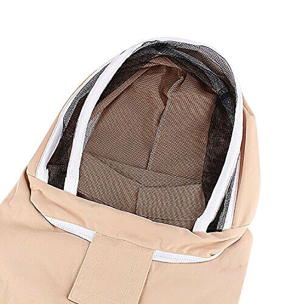 Image 5 - beekeeping supplies Breathable Half Body Anti Bee Clothes with Cap Beekeeping Protective Suit ToolEquipconvenient  product-in Protective Clothing from Home & Garden