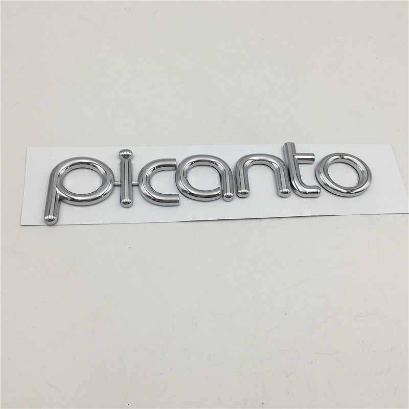 起亜 Picanto 朝 GT ラインエンブレムリアトランクテールゲートバッジロゴ銘板