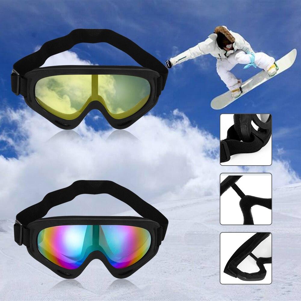 Heißer Motorrad Ski Snowboard Staubdicht Sonnenbrille Objektiv Rahmen Auge Brille Gläser Winddicht Schutz Gears 5 Farben