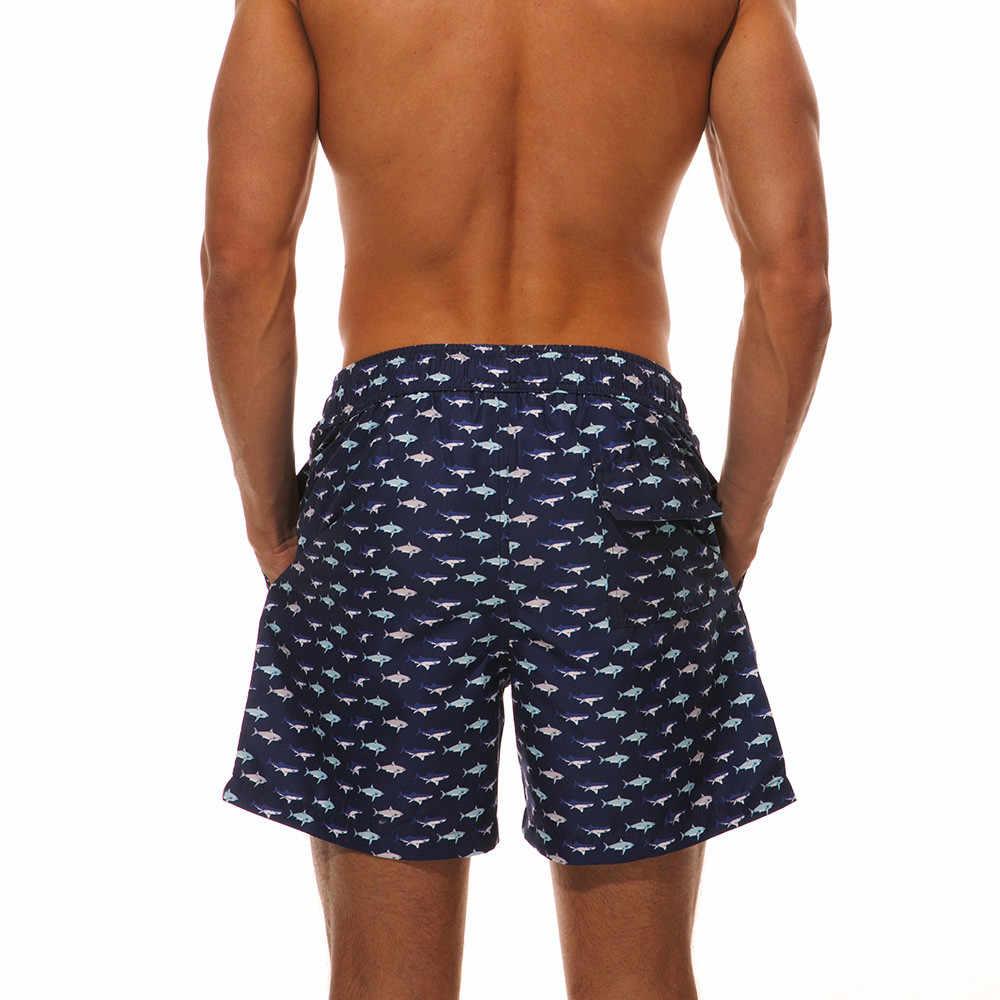 Горячие мужские купальные костюмы Спортивный Быстросохнущий пляжные шорты-бермуды штаны для серфинга купальники для мужчин плюс размер Топ для плавания # g4